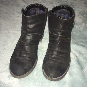 Baretraps Faux Leather Booties